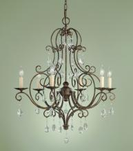Feiss F1902/6MBZ - 6- Light Chandelier